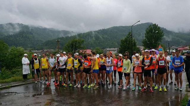 На Львівщині завершився чемпіонат України з гірського бігу