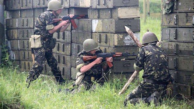 Міноборони відзвітувало про підготовку воїнів із Львівщини до АТО