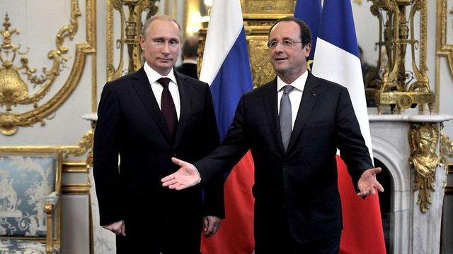 Президент Франції окремо зустрівся з Путіним та Обамою