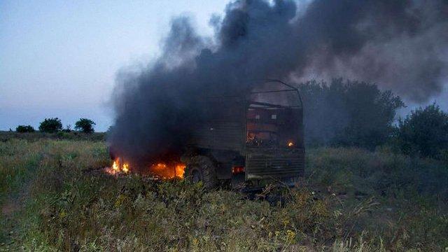 Прикордонники показали, як виглядає пункт «Маринівка» після бою з терористами