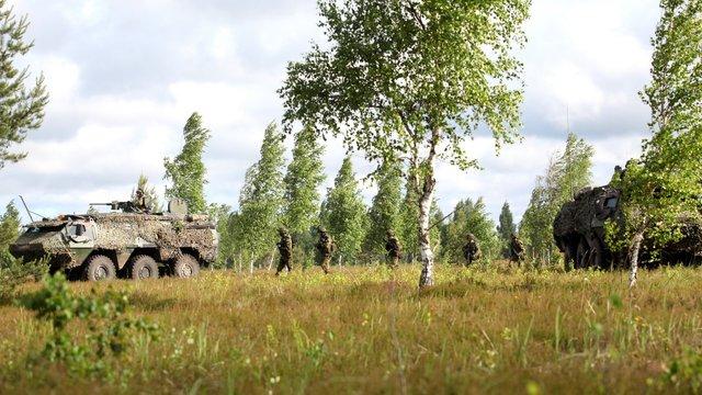 У Прибалтиці починаються військові навчання Saber Strike