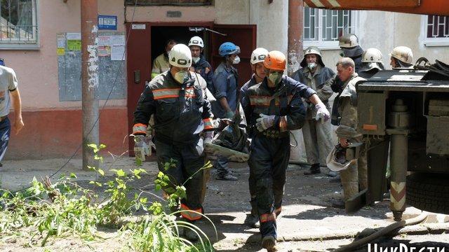 У міліції вважають, що вибух в Миколаєві був спробою приховати скоєне вбивство
