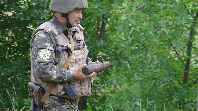 Терористи планували підірвати українських військових на фугасах часів Другої світової