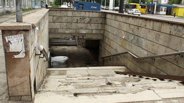 Міськрада хоче через суд забрати в ЛАЗу підземний перехід на Стрийській