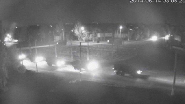 Вночі у Луганськ увійшла колона з десяти вантажівок із терористами