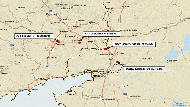 НАТО підтверджує входження на територію України російських танків
