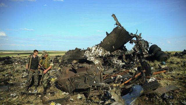 Терористи заявили, що Іл-76 збили у Луганську українські військовики