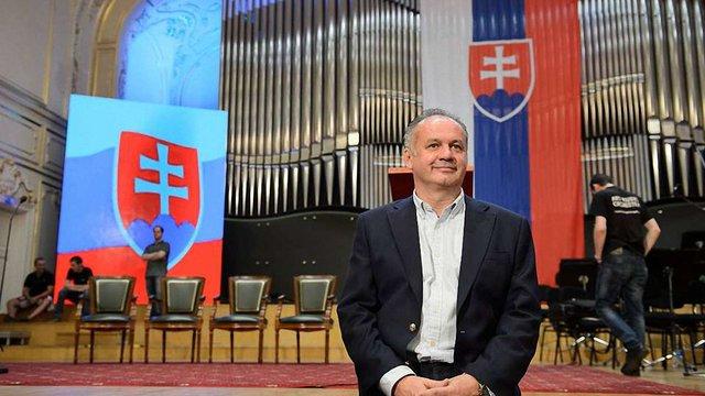 Новим президентом Словаччини став бізнесмен Андрей Кіска