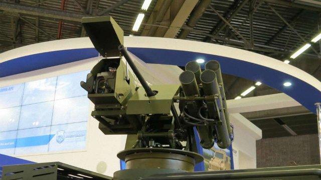 Україна представила у Парижі новий бойовий модуль «Сармат»