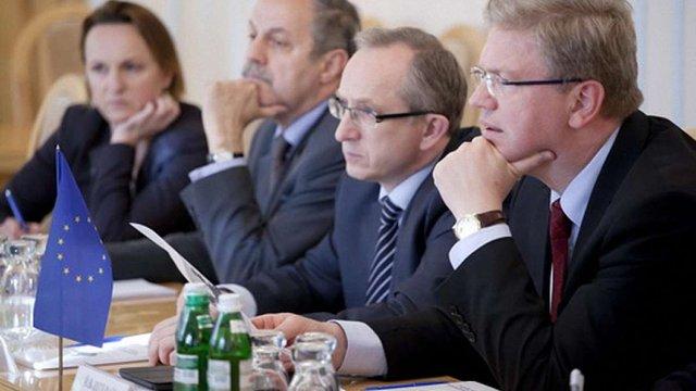 Парубій обговорив події на сході України з єврокомісарами