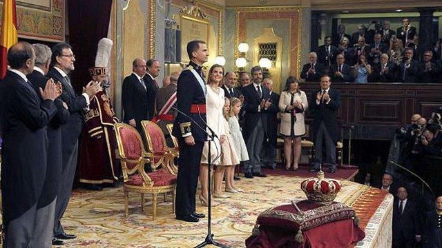 Новий король Іспанії Феліпе VI склав присягу