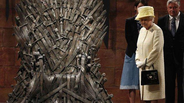 Англійська королева відвідала Сім королівств