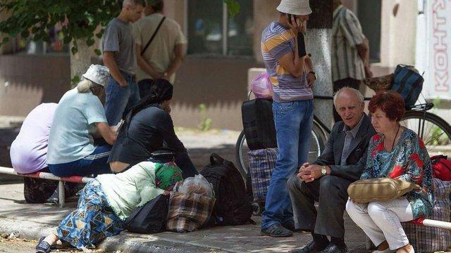 Волонтери вважають, що у Слов'янську залишилося менше половини населення