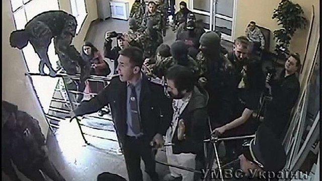 В МВС заявили про напад «Правого сектору» на управління міліції у Луцьку