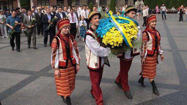 У Львові відбулись урочистості з нагоди 18-ої річниці Конституції України