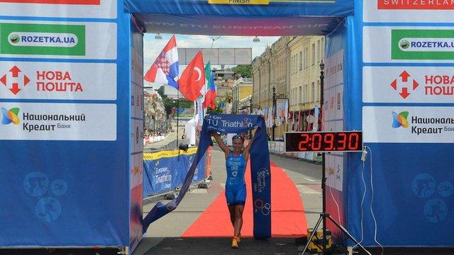 Українка стала переможницею етапу Кубку Європи з тріатлону