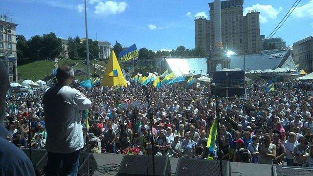 П'яте віче на Майдані може стати останньою мирною акцією, - громада