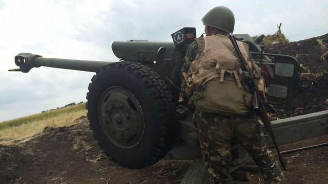 Бійці АТО пережили найактивніший артобстріл на горі Карачун під Слов'янськом