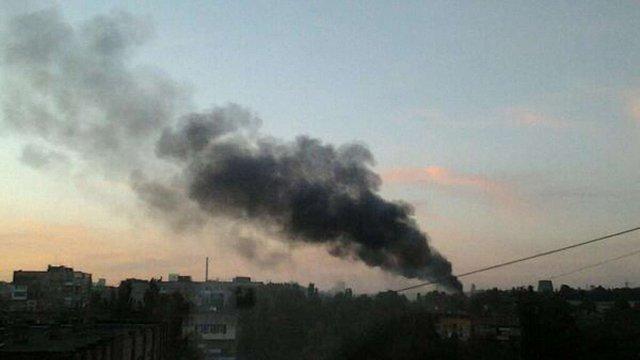 У Донецьку почався штурм частини Нацгвардії № 3037, - очевидці