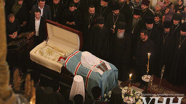 Українці прощаються з митрополитом Володимиром