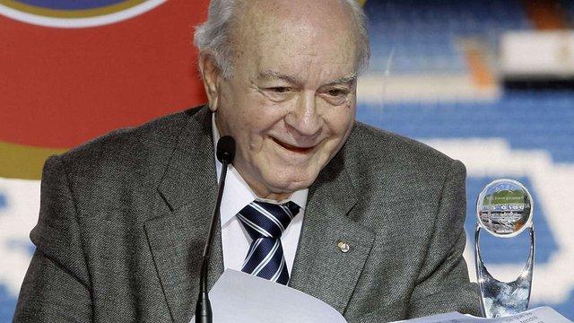 Почесний президент мадридського «Реалу» Альфредо Ді Стефано помер у шпиталі
