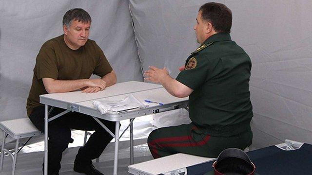 Арсен Аваков і Степан Полторак розглянули проект майбутнього табору для військовослужбовців