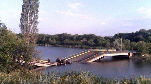 На Донеччині терористи підірвали міст