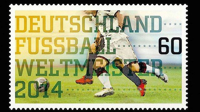Німеччина прославить свою футбольну перемогу в поштовій марці