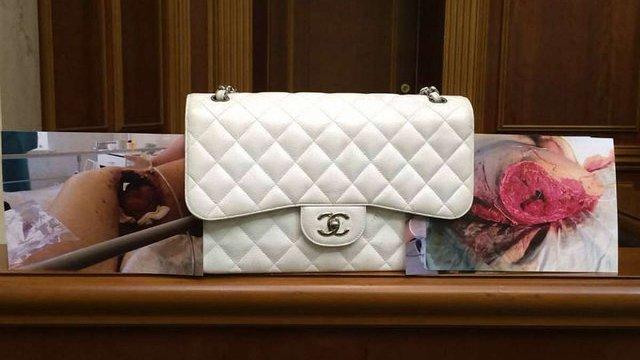 УДАР продасть з аукціону брендову сумку Ганни Герман