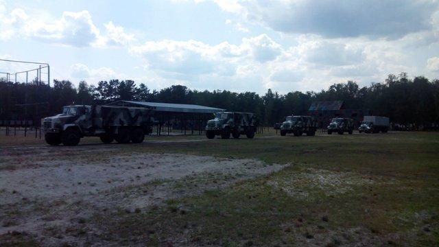 У зону АТО вирушила модернізована бригада Нацгвардії нового типу