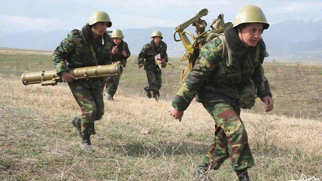Бойові сутички на кордоні Азербайджану і Вірменії