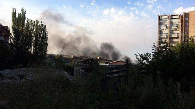 Терористи ЛНР знищили декілька цехів «Луганськтепловозу»