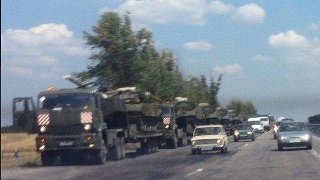 Росія продовжує стягувати війська до українського кордону, - РНБО