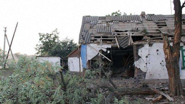 Терористи знищили село Степанівка, що на Донеччині