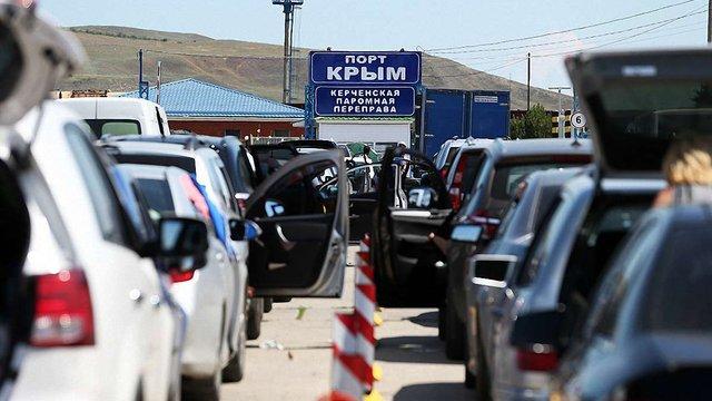 Через Керченську протоку тимчасово не переправлятимуть потяг Москва-Сімферполь
