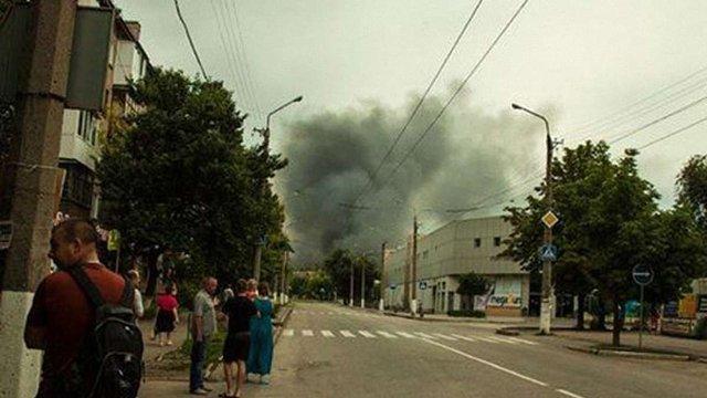 У Луганську тривають вуличні бої, сили АТО пробиваються до центру міста