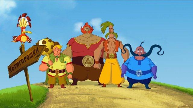 У День Незалежності відбудеться прем'єра мультсеріалу «Пригоди Котигорошка та його друзів»