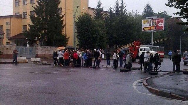 У Львові родичі військовослужбовців уже вдруге за тиждень перекрили вул. Стрийську
