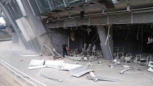 Терористи розгромили стадіон «Донбас Арена»