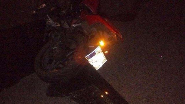 У Львові Lexus збив мотоцикліста з пасажиром