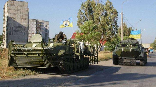 Сили АТО не залишать своїх позицій після оголошення режиму припинення вогню, - РНБО