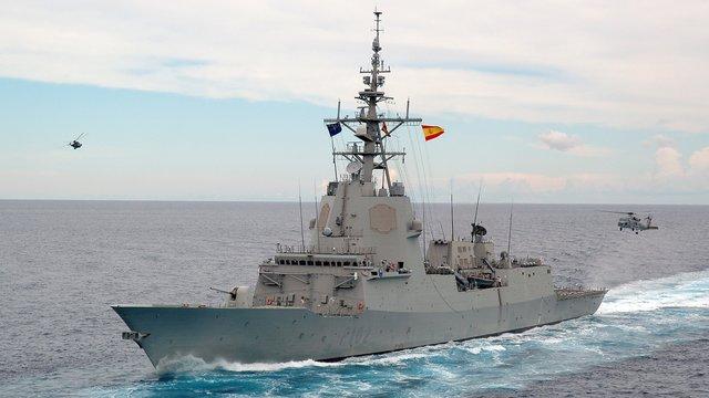 До Чорного моря увійшов іспанський фрегат Almirante Juan de Borbon