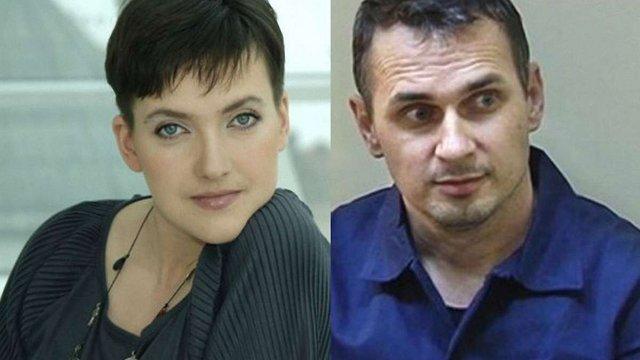 Порошенко наполягає на звільненні Сенцова і Савченко