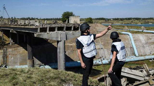 Місія ОБСЄ зафіксувала значне зростання порушень режиму припинення вогню на Донбасі