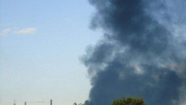 Терористи підірвали ТЕС у місті-супутнику Луганська