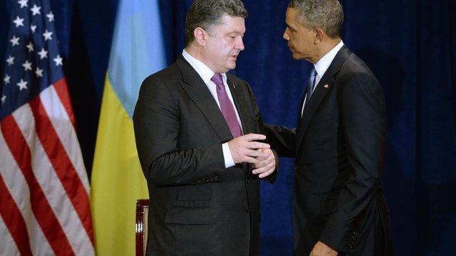 Обама схвалив посилення співпраці з Україною у секторах безпеки та оборони, - Порошенко