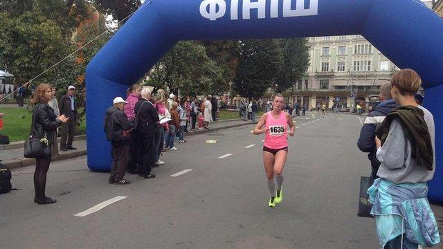 У Львові пройшов 10-кілометровий спортивний забіг