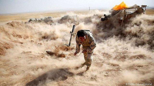 Курдські війська наступають на позиції «Ісламської держави»