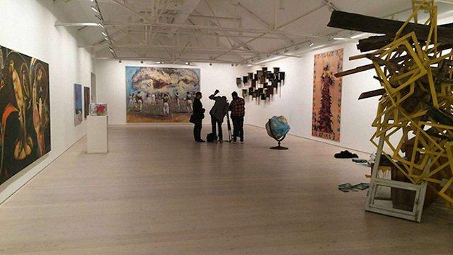 У лондонській Saatchi Gallery відкрилась виставка українського мистецтва