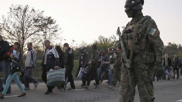 Терористи звинуватили Білозір у зриві обміну полоненими